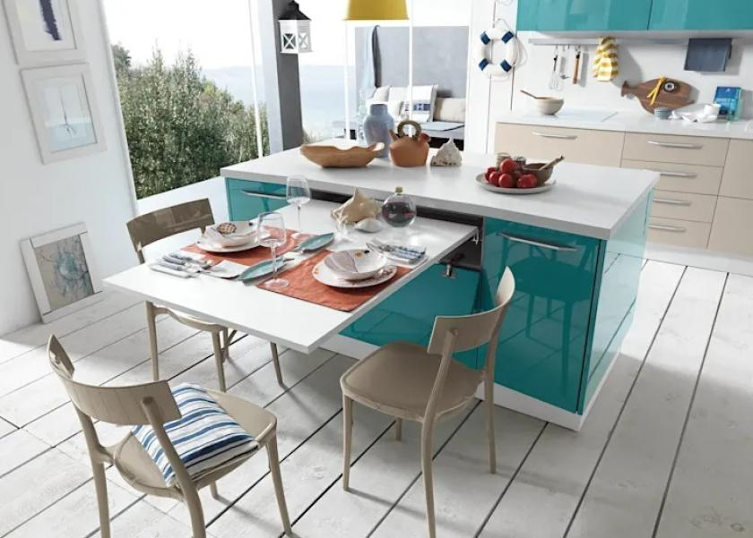 6 أفكار لاستخدام طاولة المطبخ حتى لو مساحته صغيرة