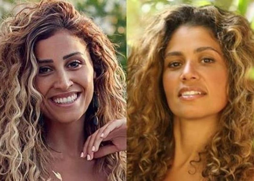 جلسة دينا الشربيني تعيد الجدل حول تشبهها بزوجة عمرو دياب
