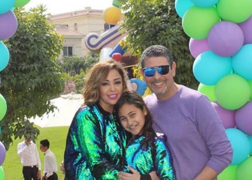 داليا البحيري تحتفل بعيد ميلاد ابنتها وسط عائلتها.. ومتابعيها: