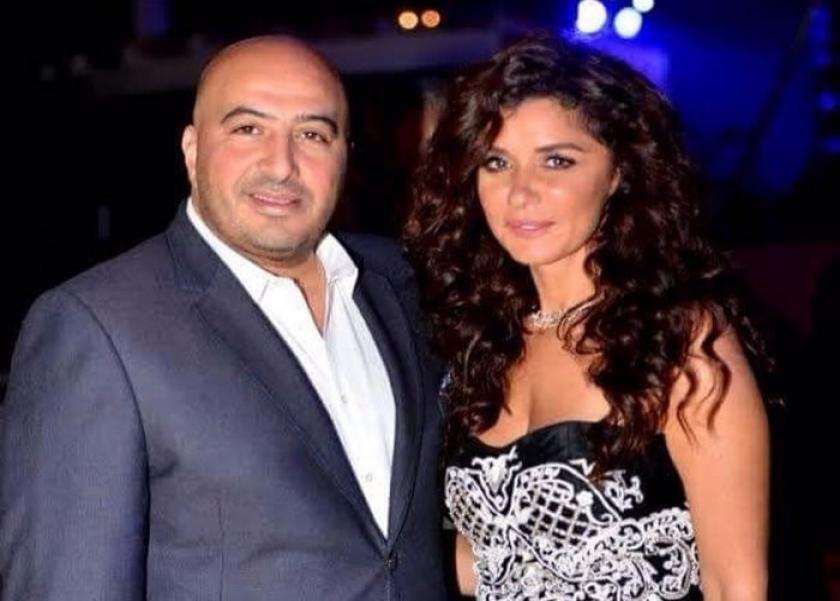 بالصور| غادة عادل بفستان الزفاف مع مجدي الهواري: