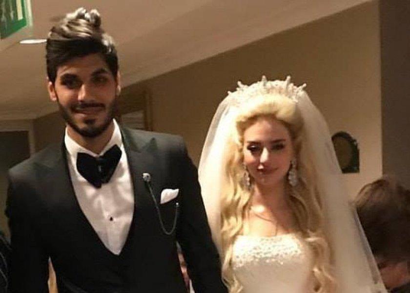 الصورة الأولى لحفل زفاف علي جبر