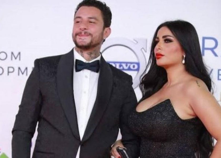 أحمد الفيشاوي يحتفل بعيد ميلاد زوجته