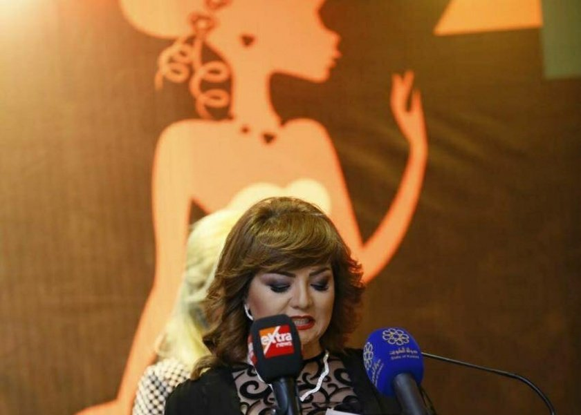 أمال إبراهيم المنسق الإعلامى لمهرجان المرأة العربية للإبداع