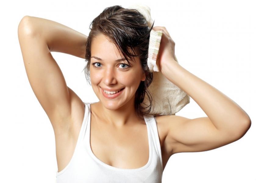 الخطوات الصحيحه لتجفيف الشعر