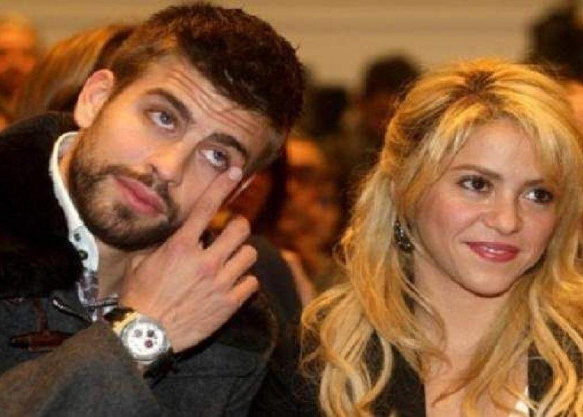 شاكيرا وزوجها