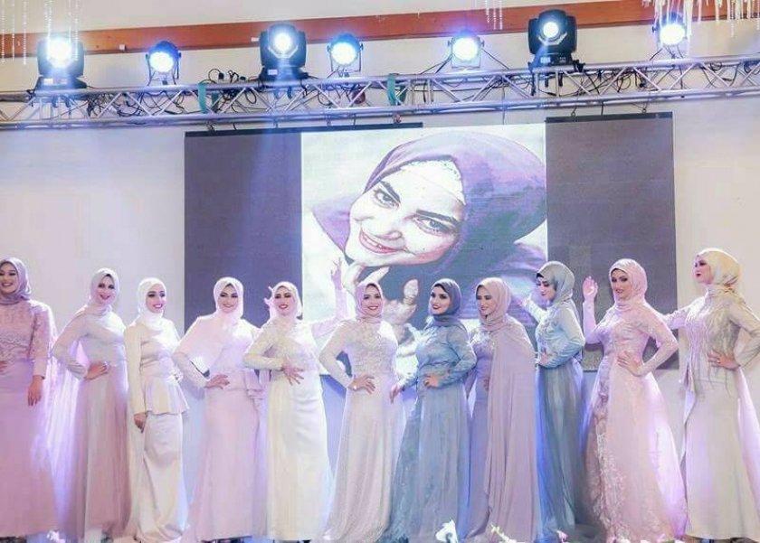 cdb1b39c9fb6b من ملكة جمال المحجبات لـالكون حبيبة أبوعلي تكشف كواليس تصميم الأزياء ...