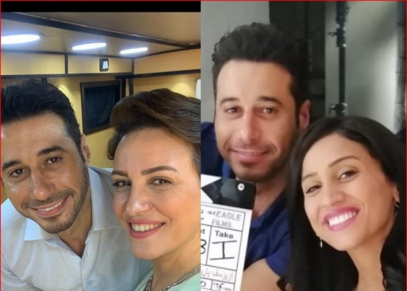 أحمد السعدني برفقة ريهام عبد الغفور ودينا الشربيني