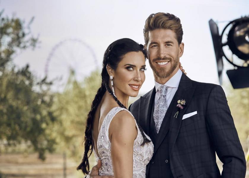 راموس وزوجته