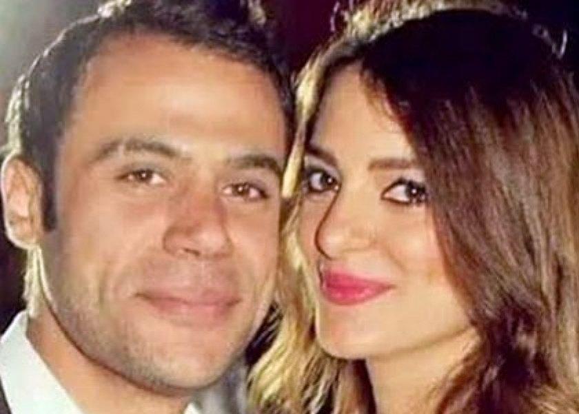 محمد إمام وزوجته