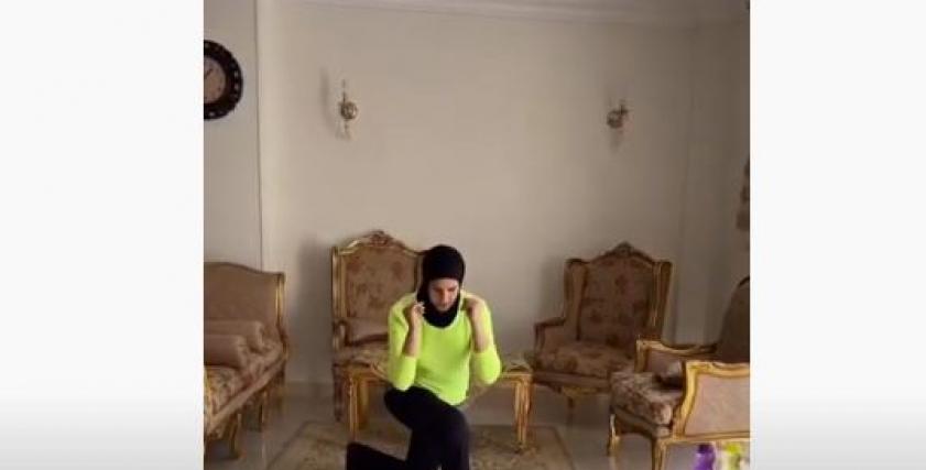 شيماء رجب مدربة اللياقة البدنية