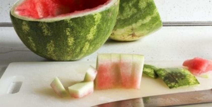 فوائد قشر البطيخ