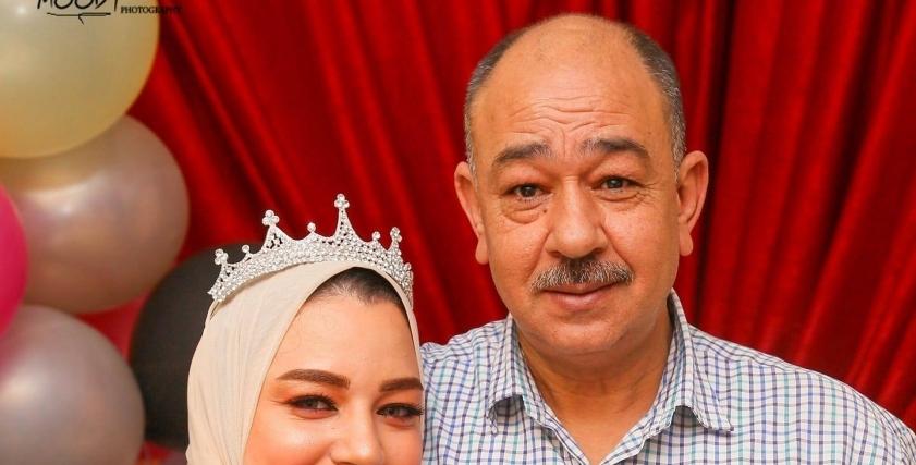 عروسة كفر الشيخ بوسي العربي ووالدها