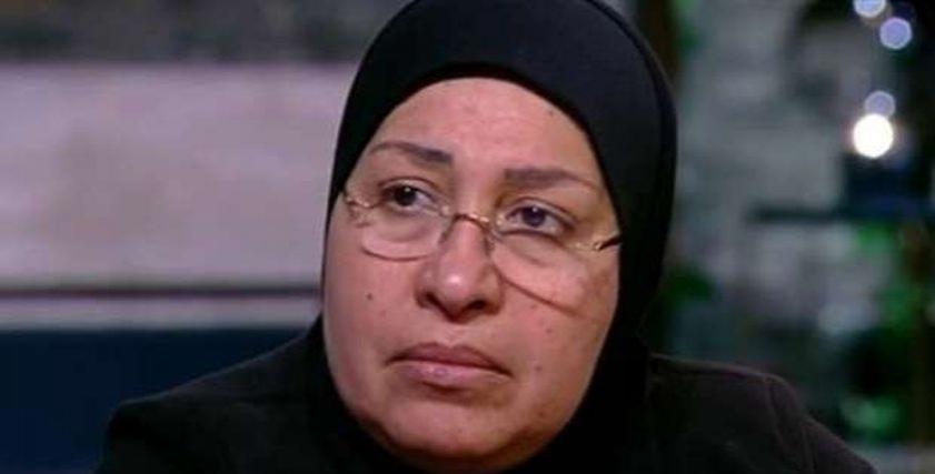 سامية زين العابدين أرملة الشهيد عادل رجائي