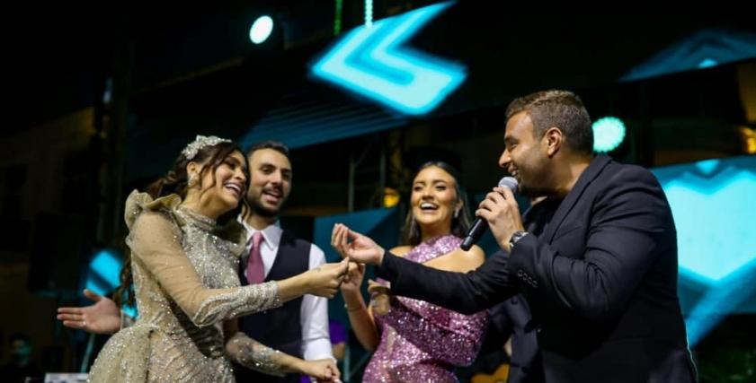 رامي صبري مع العروسة