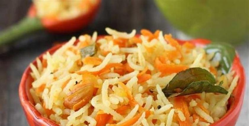 طريقة عمل الأرز بالجزر اليمني
