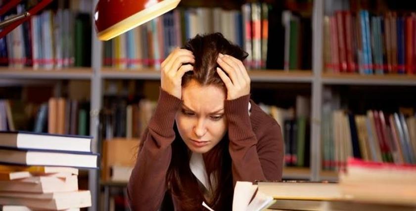 الضغوط أثناء الدراسة - أرشيفية