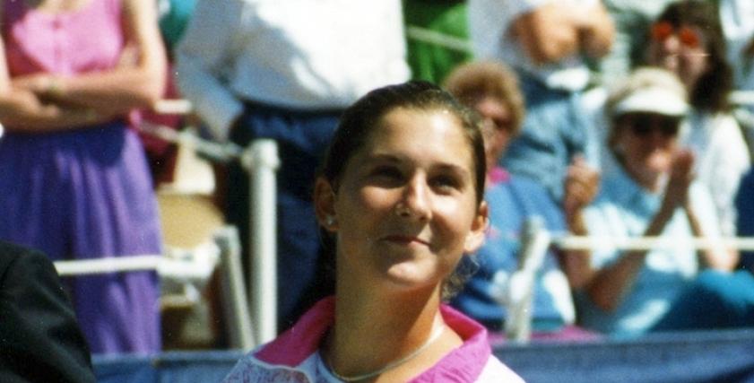 لاعبة التنس مونيكا سيليش