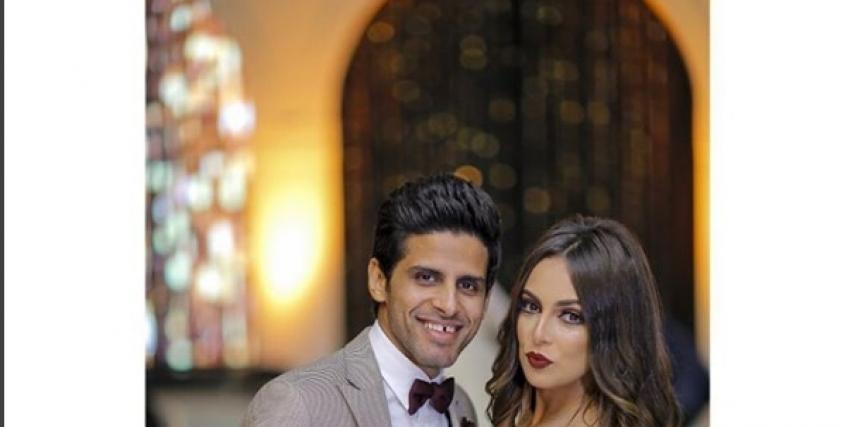 حمدي الميرغني وزوجته