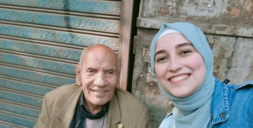 الفنان محمد عبدالحليم وبسنت محمد