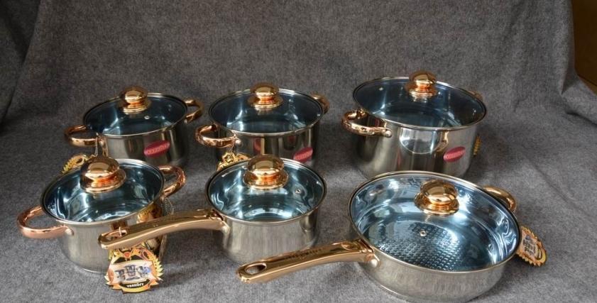 استخدام الأواني المصنوعة من الذهب
