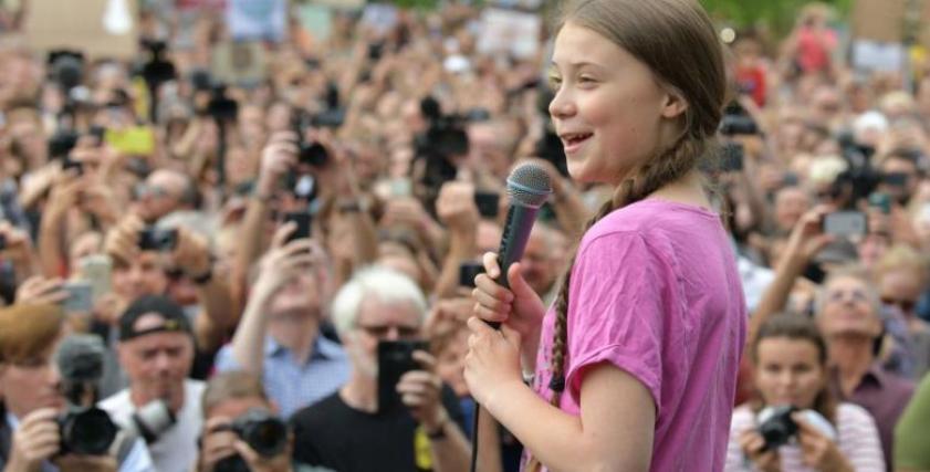 الناشطة السويدية جريتا