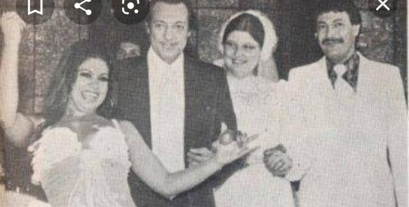 حفل زفاف ابنة رشدي أباظة
