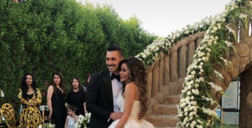 جانب من حفل زفاف شقيقة محمد رمضان