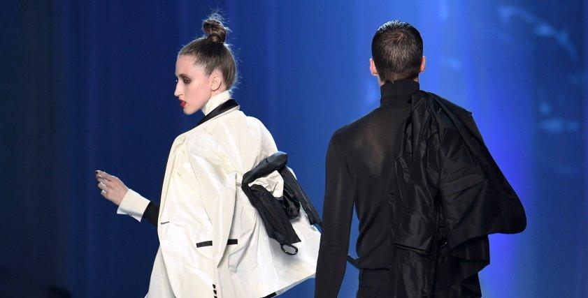 جان بول ينوع في ازيائة بأسبوع الموضة في باريس لعام 2018