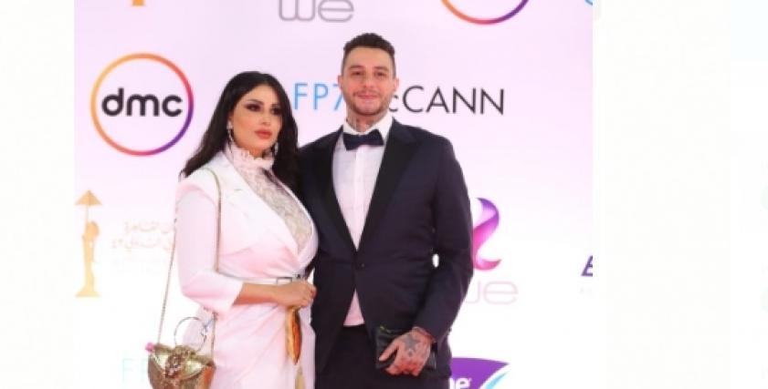 أحمد الفيشاوي  وزوجته