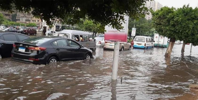 من غرق شوارع القاهرة