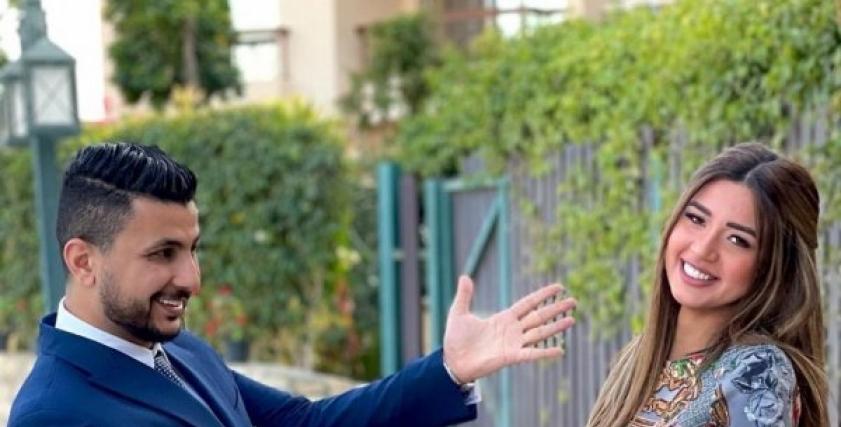 علي غزلان وخطيبته