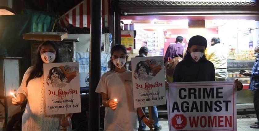 مظاهرات مطالبة بمحاسبة مرتكبي جرائم الاغتصاب