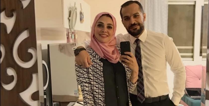 الزوجين محمد ودينا