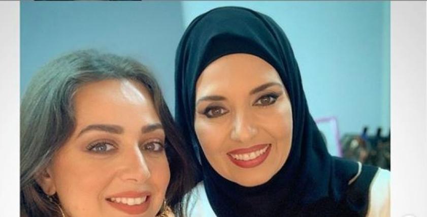 الفنانتان جيهان نصر و هبة مجدي