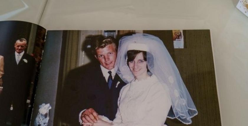 زوجين طيلة 50 عامًا لم يتشاجرا سوى مرة واحدة