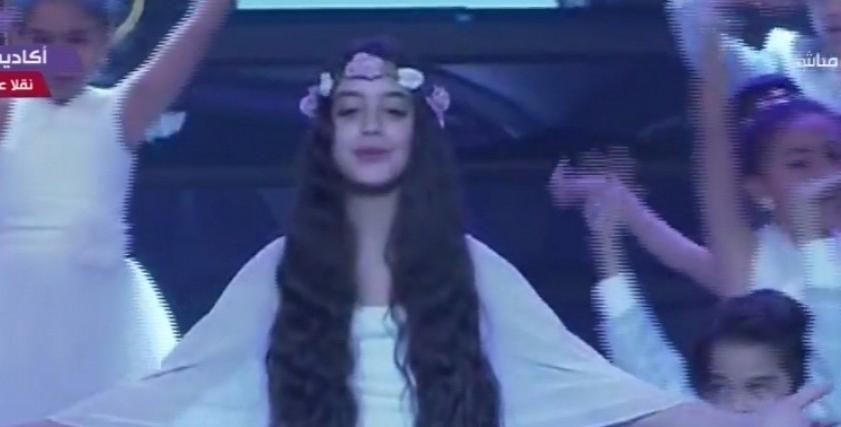 الطفلة ياسيمنا المشاركة في كورال سوا سوا