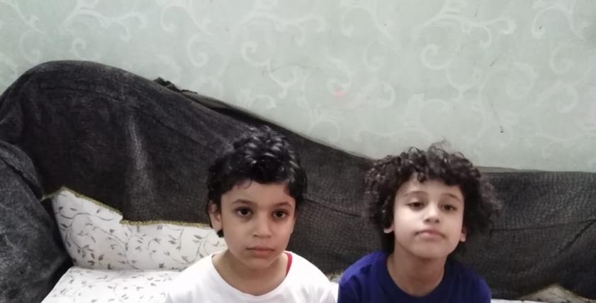 أحمد وشقيقه مالك