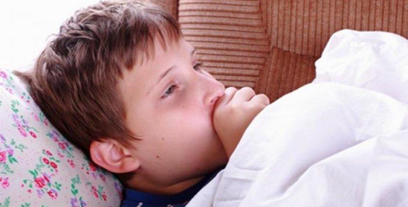 طفل مصاب بالإنفلونزا - صورة أرشيفية