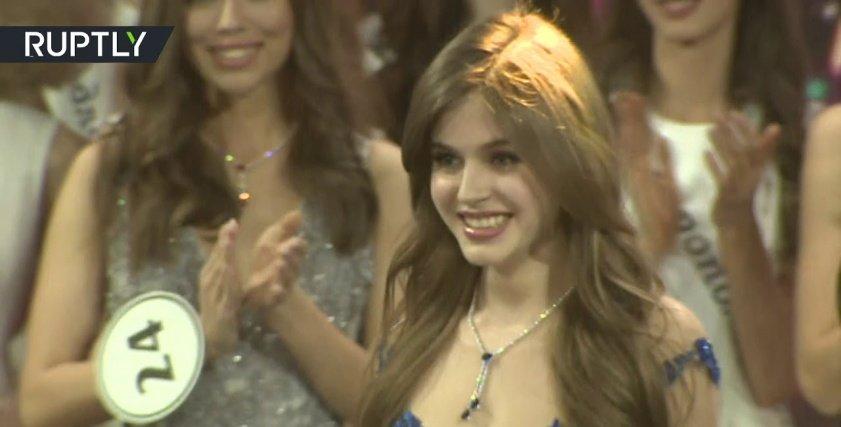ملكة جمال روسيا ألينا سانكو