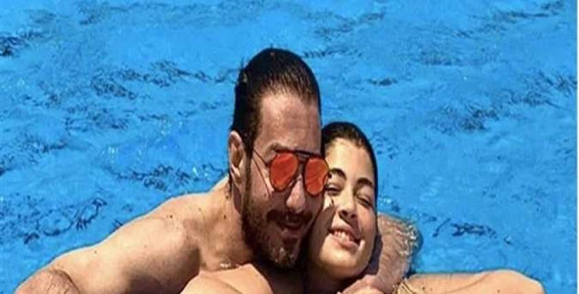 أحمد زاهر وليلى.