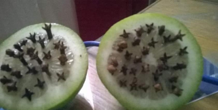 التخلص من الناموس قرنفل وليمون