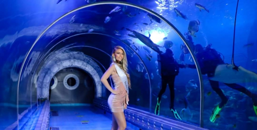 ملكات جمال العالم في الغردقة