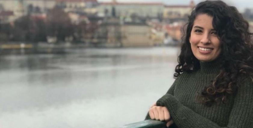 الفتاة الفلسطينية آية نعامنة