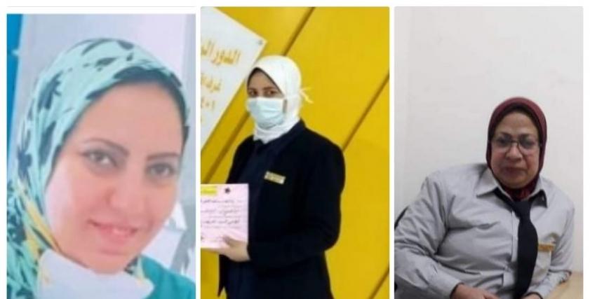 طبيبات وممرضات وعاملات بالمستشفيات تضحيات مجندات مجهولات