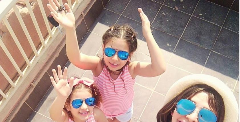 إيمان عبد الغفار وابنتهيا