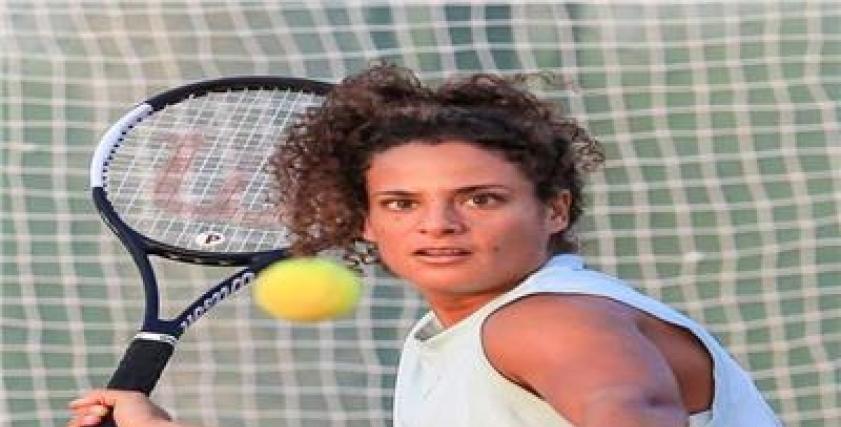 ميار شريف لاعبة التنس أول مصرية تتأهل لبطولة استراليا