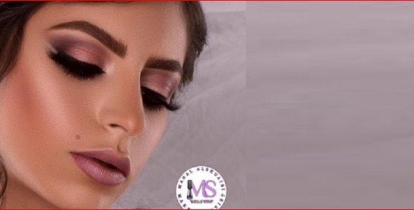منال الشعيبى نجمة الميك اب السعودية لأول مرة بملكة جمال العرب لبنان 2019