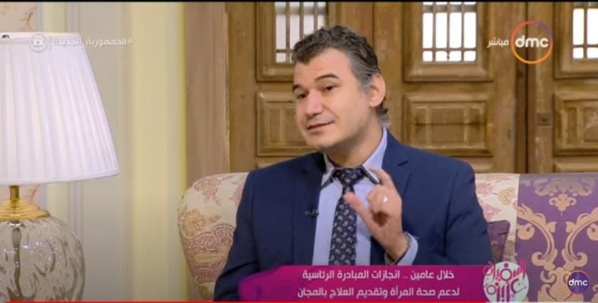 قال الدكتور لؤي قاسم، أستاذ طب الأورام بطب القصر العيني