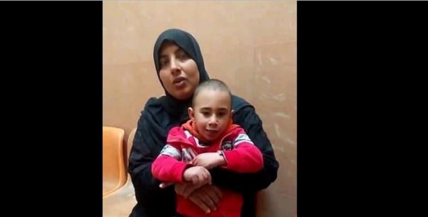 عمر ووالدته
