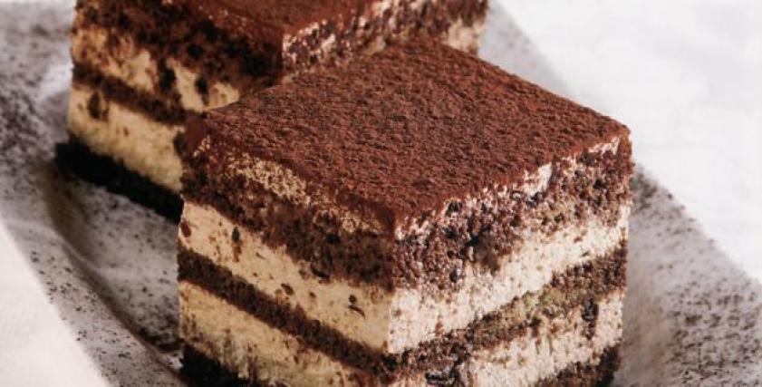 تيراميسو بالشوكولاتة